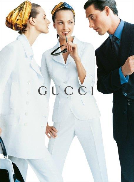 Рекламная кампания Gucci весна-лето — 1995. Изображение № 7.