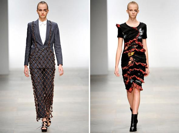 Показы на London Fashion Week SS 2012: День 5. Изображение № 9.