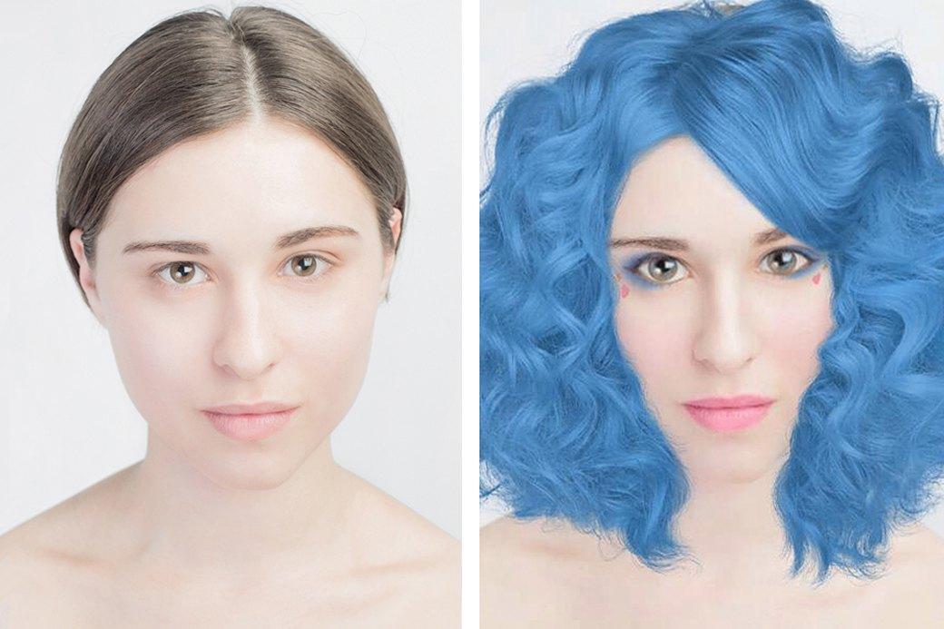 До и после макияжа:  Редакция тестирует  бьюти-приложения. Изображение № 17.