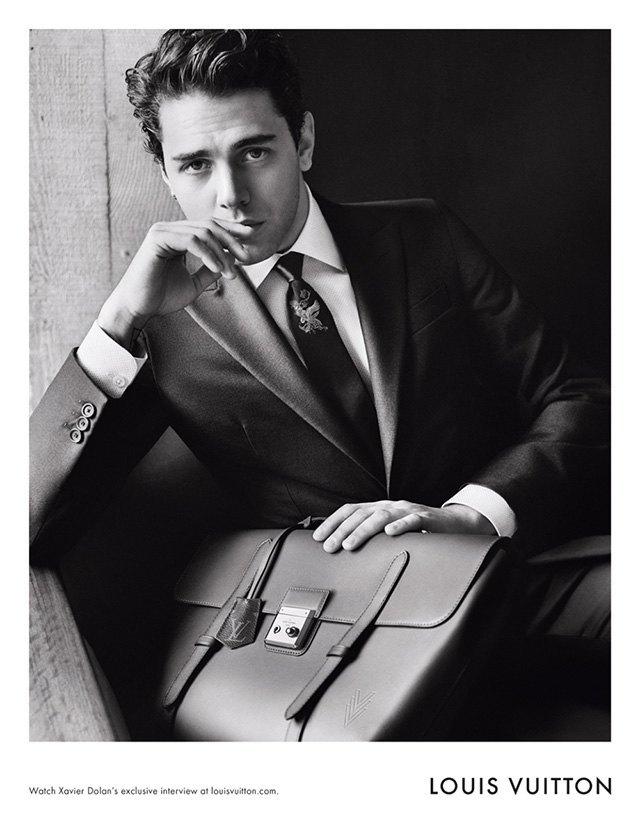 Ксавье Долан стал лицом мужской коллекции Louis Vuitton. Изображение № 1.