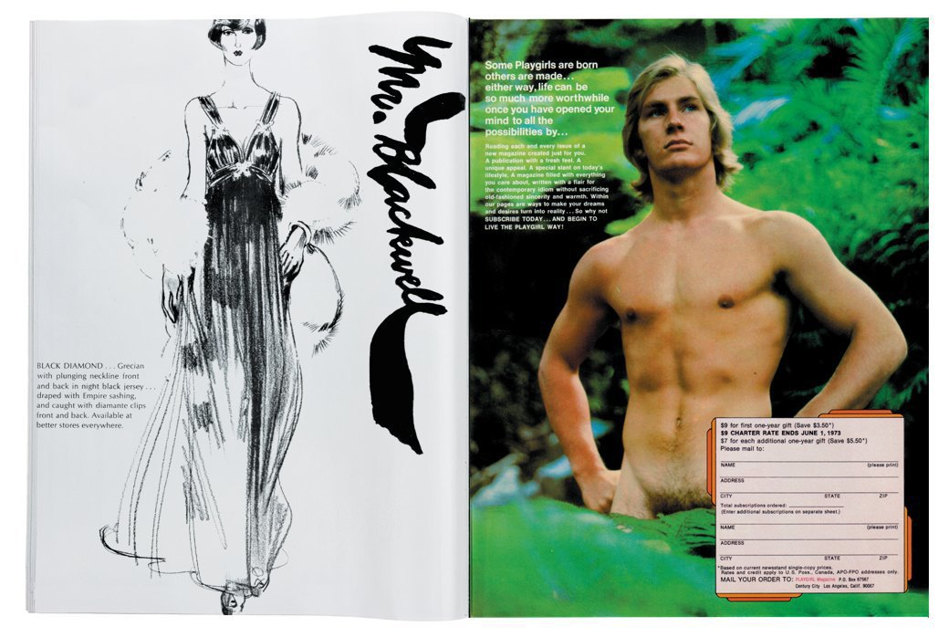 Разворот журнала Playgirl  за 1973 год. Изображение № 12.