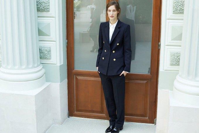 Объемные пальто и клетка в осеннем лукбуке Zara. Изображение № 4.