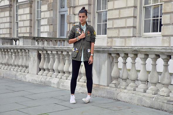 London Fashion Week: Уличный стиль, часть 3. Изображение № 3.