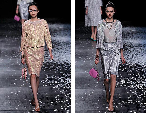 Неделя моды в Париже: Показы Balenciaga, Carven, Rick Owens, Nina Ricci, Lanvin. Изображение № 45.