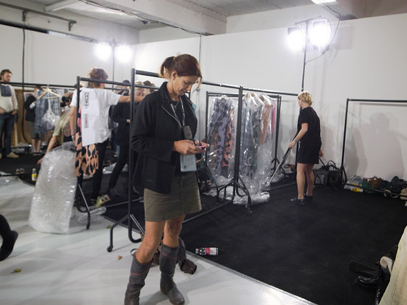 London Fashion Week: Репортаж с бэкстейджей House of Holland и Vivienne Westwood. Изображение № 12.
