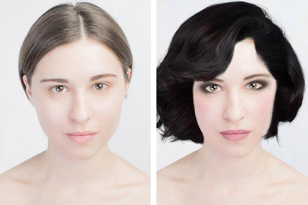 До и после макияжа:  Редакция тестирует  бьюти-приложения. Изображение № 15.