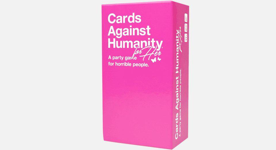 Настольная игра Cards Against Humanity «для неё». Изображение № 1.