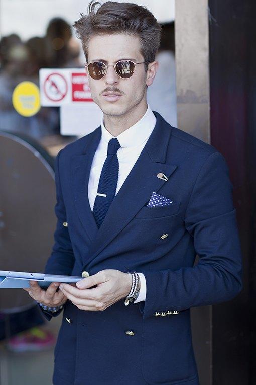 Красивые  мужчины  на Pitti Uomo. Изображение № 29.