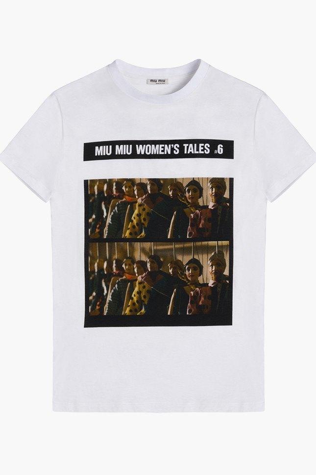 Miu Miu посвятили коллекцию футболок современным женщинам. Изображение № 6.