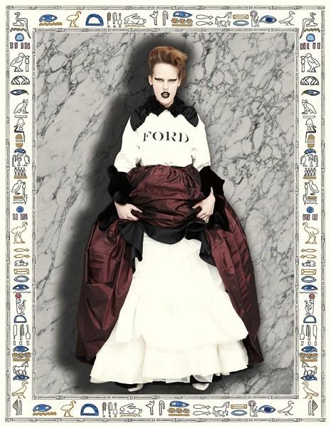 Композитки пяти модельных агентств к Нью-Йоркской неделе моды. Изображение № 54.