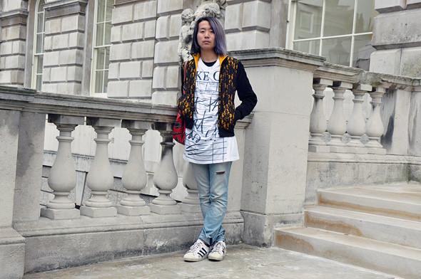 London Fashion Week: Уличный стиль, часть 2. Изображение № 13.
