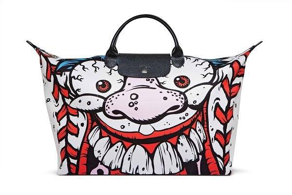 Джереми Скотт создал капсульную коллекцию сумок для Longchamp. Изображение № 2.