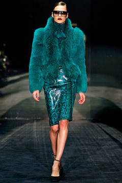 Gucci FW 2011. Изображение № 45.
