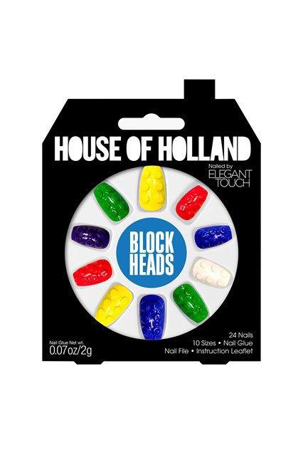 House of Holland и Elegant Touch сделали классные накладные ногти. Изображение № 2.