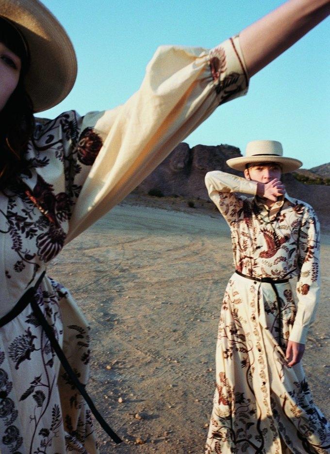Калифорнийские просторы и ковбойские мотивы  в кампании Dior. Изображение № 8.