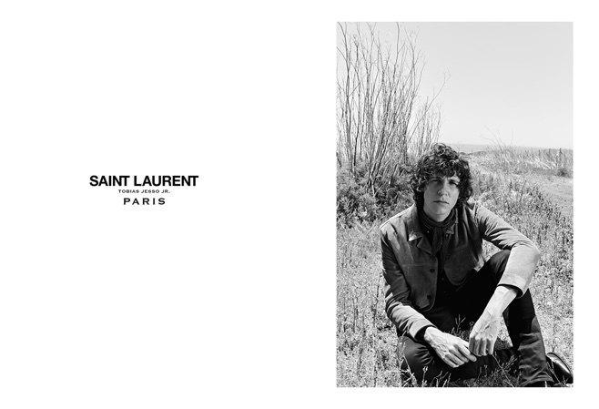 Тобайас Джессо-младший стал лицом Saint Laurent. Изображение № 1.