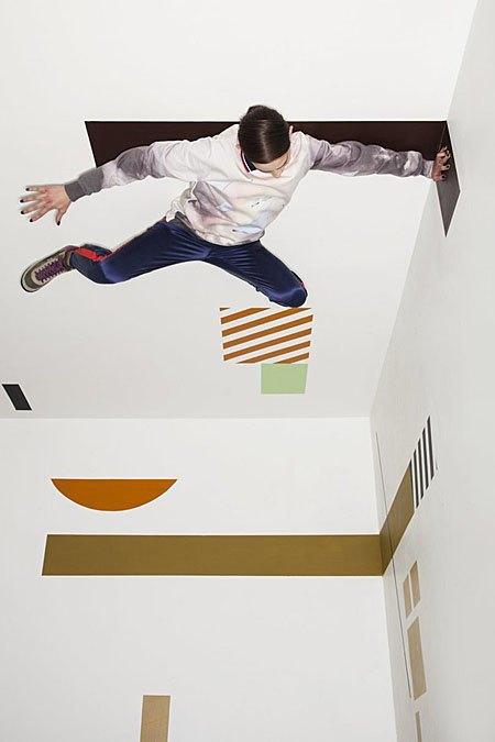 Графичные декорации Алексея Луки в осеннем лукбуке Kixbox. Изображение № 5.