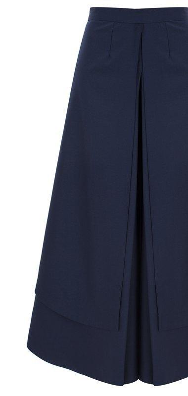 Широкие брюки в осенне-зимних коллекциях. Изображение № 21.