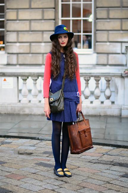 London Fashion Week: Уличный стиль, часть 1. Изображение № 31.
