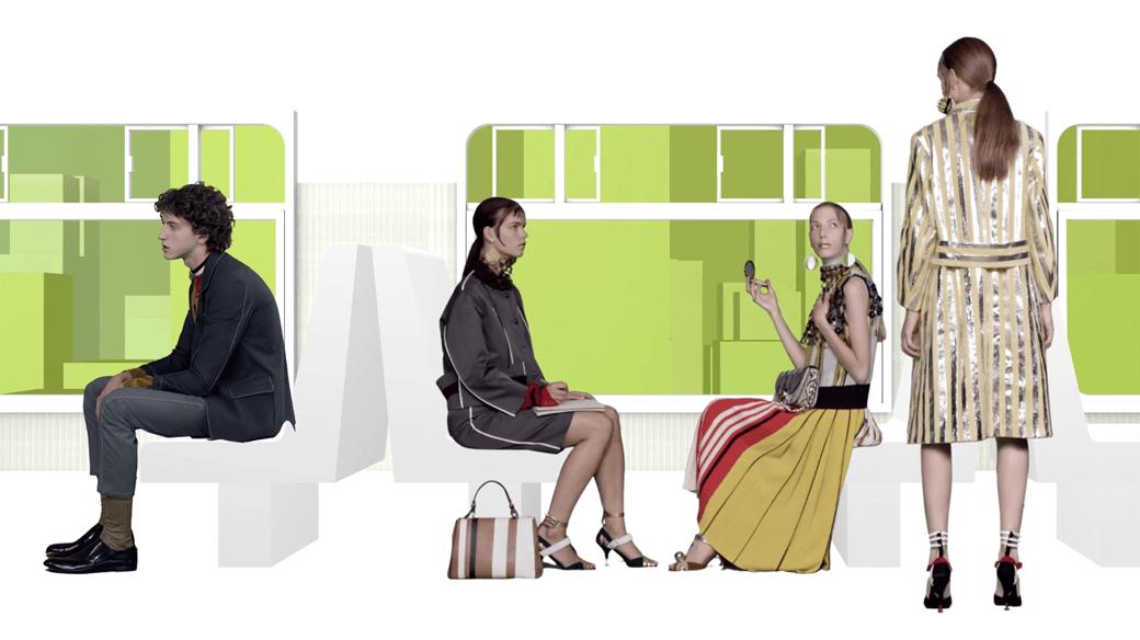 Real Fantasies:  Видеолукбук Prada,  созданный бюро AMO. Изображение № 4.