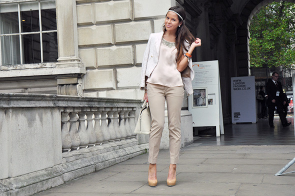 London Fashion Week: Уличный стиль, часть 2. Изображение № 10.