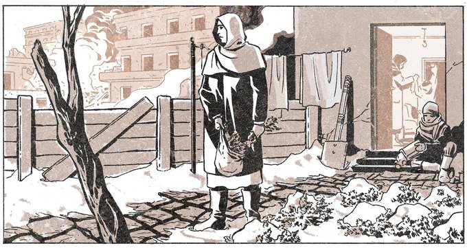 Главная героиня нового комикса Marvel — мать, живущая в Сирии. Изображение № 1.