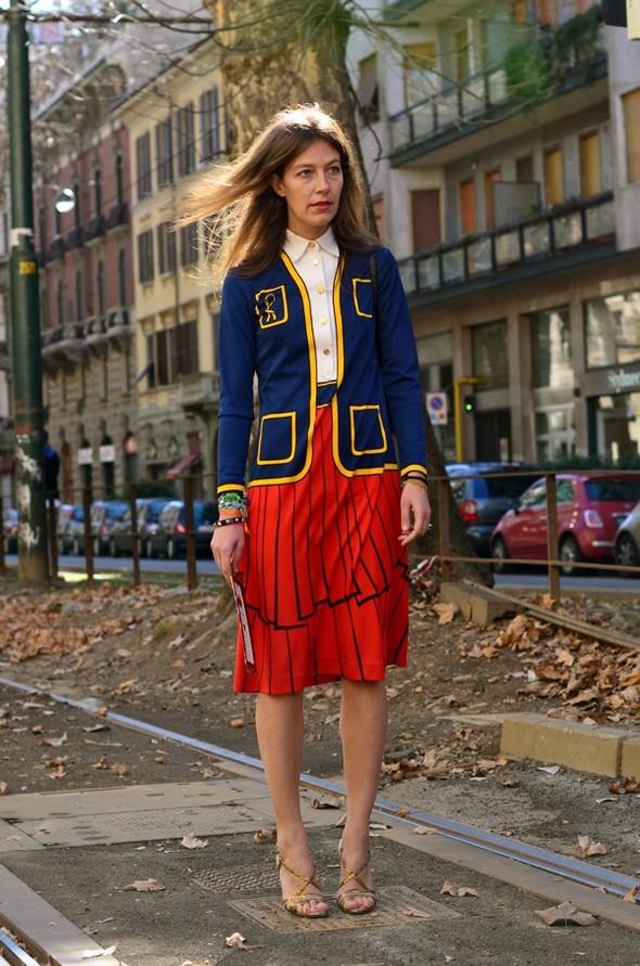 Неделя моды в Милане: Streetstyle. Изображение № 33.