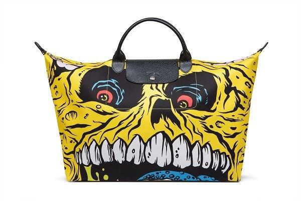 Джереми Скотт создал капсульную коллекцию сумок для Longchamp. Изображение № 1.