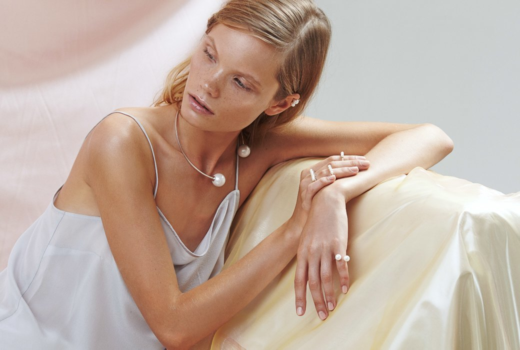 Maria Stern: Лаконичные украшения с жемчугом. Изображение № 2.