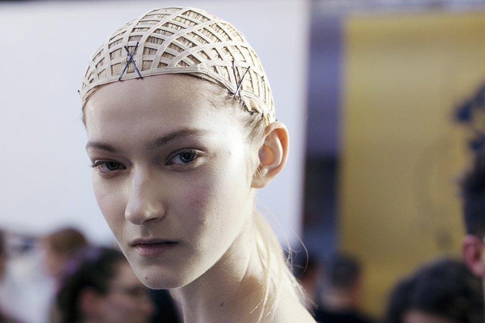 Paris Fashion Week FW 14:  Бэкстейдж показа  Gareth Pugh. Изображение № 6.