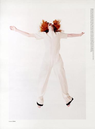 Фантастическая миссис Фокс: 8 моделей с рыжими волосами. Изображение № 6.