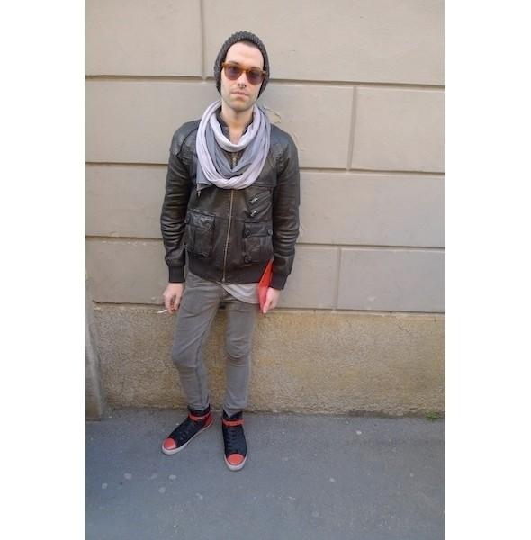 Изображение 18. Milan Fashion Week: день второй — луки.. Изображение № 4.