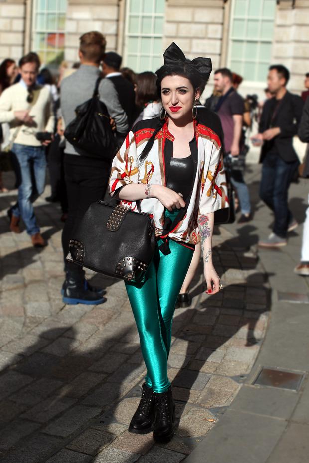 Streetstyle: Неделя моды в Лондоне, часть 1. Изображение № 34.