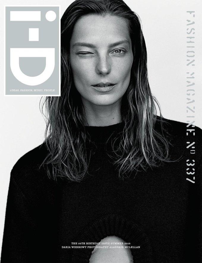 Журнал i-D отметил  35-летие восемнадцатью обложками с моделями. Изображение № 4.
