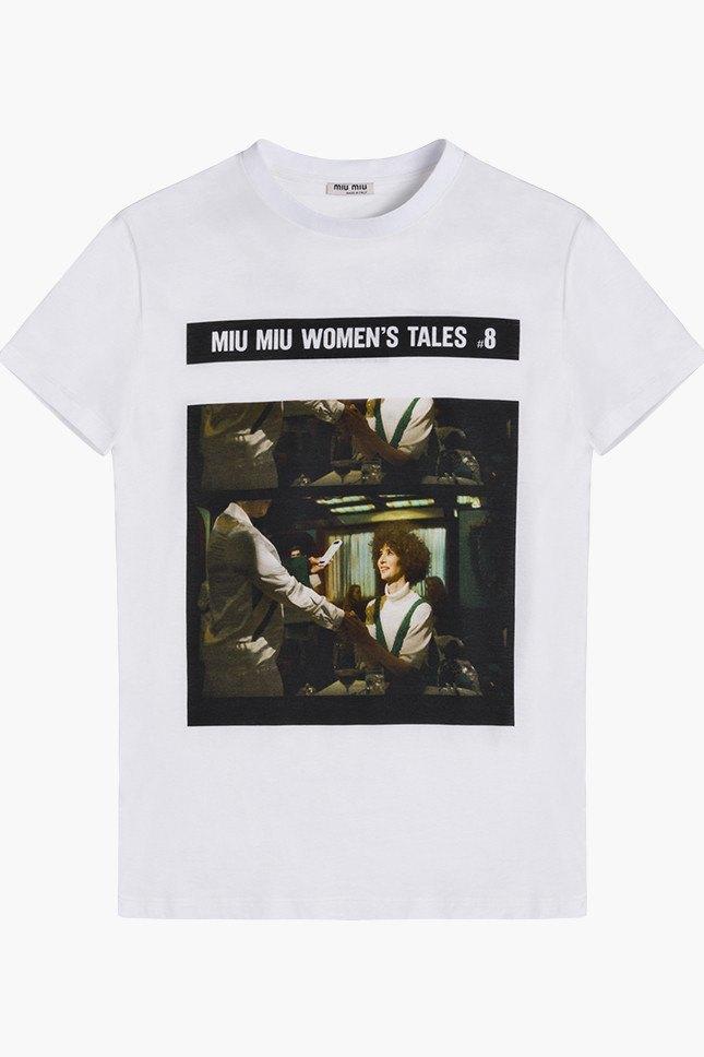 Miu Miu посвятили коллекцию футболок современным женщинам. Изображение № 8.