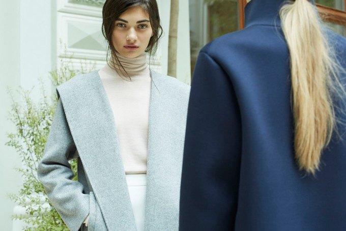 Объемные пальто и клетка в осеннем лукбуке Zara. Изображение № 14.