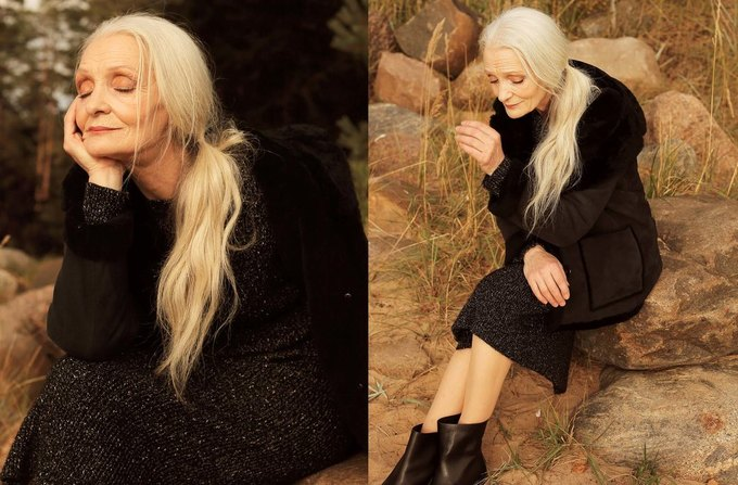 62-летняя модель Oldushka снялась в лукбуке 12Storeez. Изображение № 1.