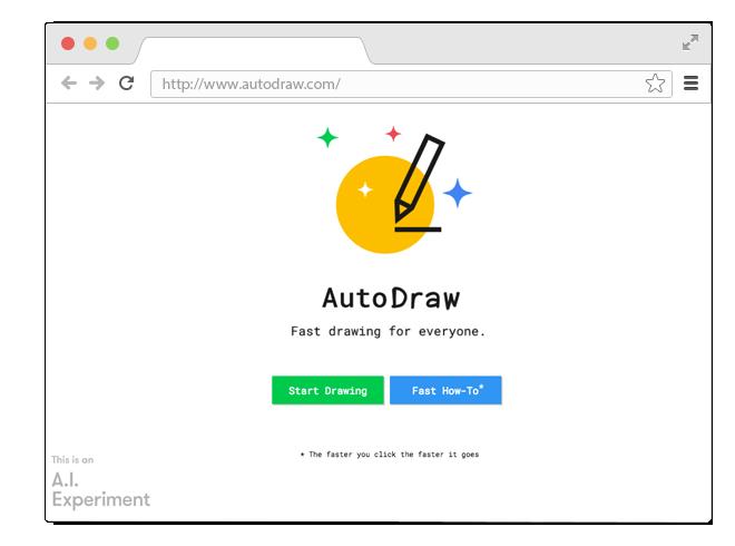 В закладки: Умный сервис AutoDraw для тех, кто не умеет рисовать. Изображение № 1.