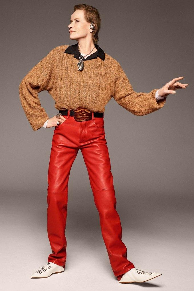 В лукбуке Acne Studios снялась 78-летняя супермодель Верушка. Изображение № 6.