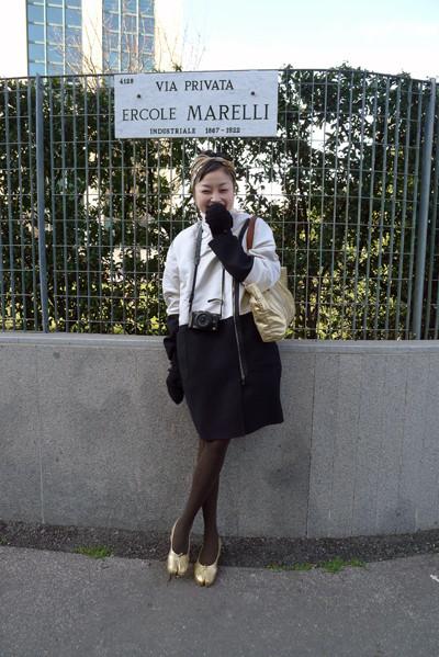 Изображение 23. Milan Fashion Week: день третий – луки.. Изображение № 6.
