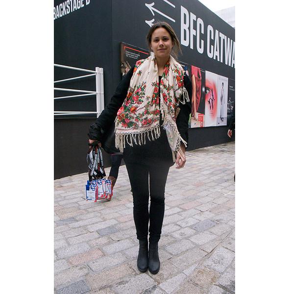 London Fashion Week: день первый — луки. Изображение № 22.