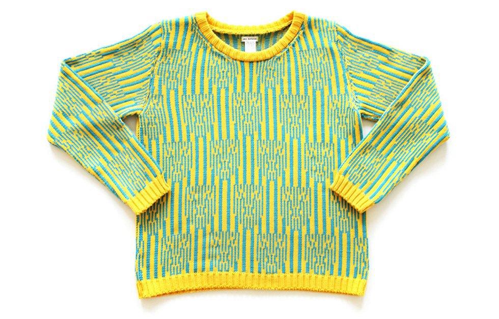 Теплые свитеры ALL Knitwear с геометричным узором. Изображение № 2.