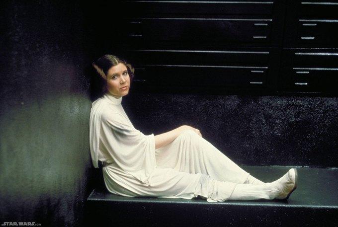 Кэрри Фишер — принцесса Лея Органа. Изображение № 1.
