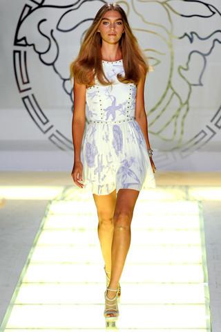 Milan Fashion Week: показ Versace SS 2012. Изображение № 15.