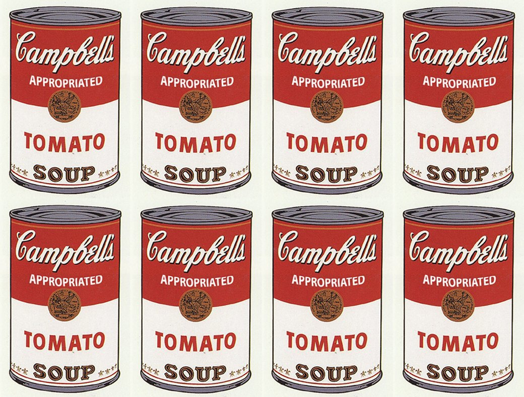 Campbell's Soup Can (Tomato), Andy Warhol, 1962. Изображение № 4.