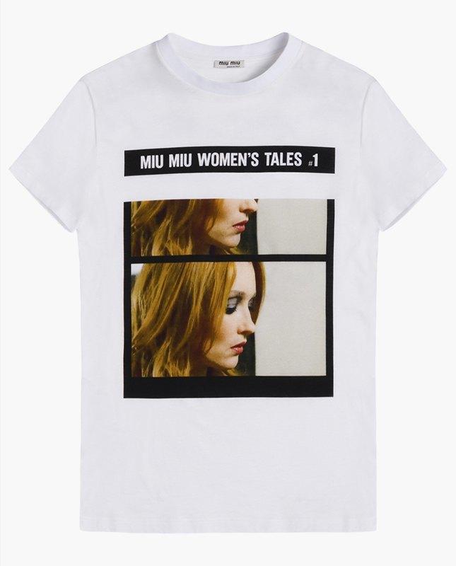 Miu Miu посвятили коллекцию футболок современным женщинам. Изображение № 2.