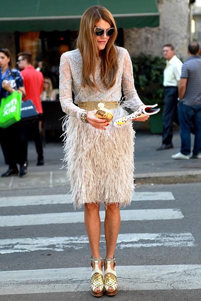 Milan Fashion Week: Уличный стиль, день 2. Изображение № 13.