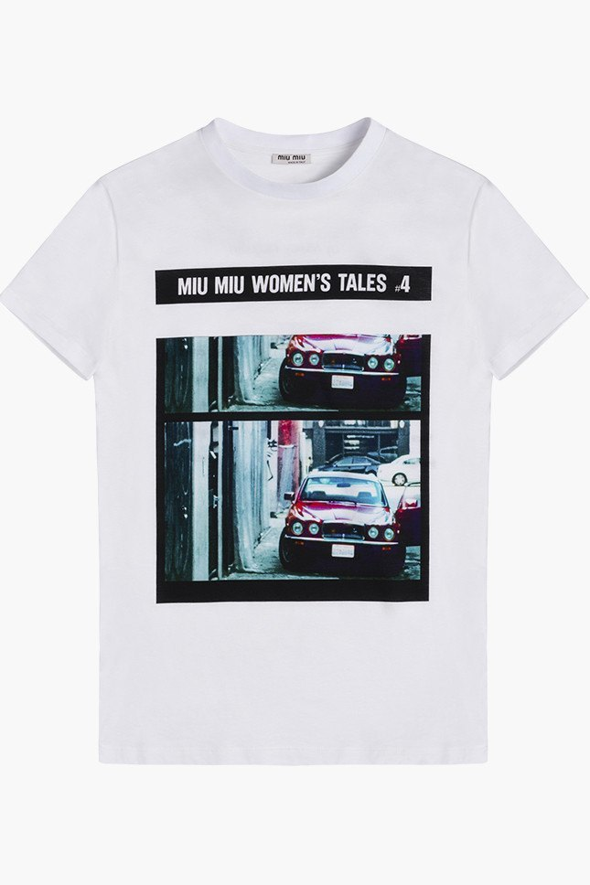 Miu Miu посвятили коллекцию футболок современным женщинам. Изображение № 5.