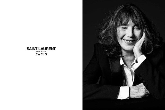 Джейн Биркин снялась  для Saint Laurent. Изображение № 2.