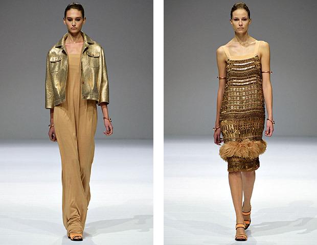 Неделя моды в Париже: показы Veronique Branquinho, Cedric Charlier, Anthony Vaccarello и Aganovich. Изображение № 2.